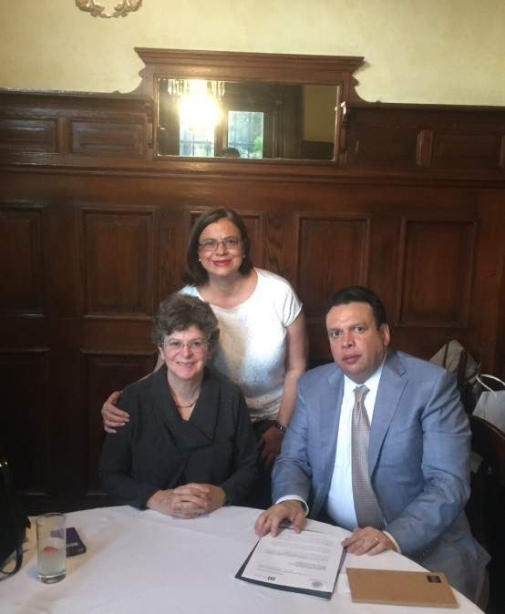 Firman convenio el Canal judicial y el Colegio de Profesores de Derecho Civil