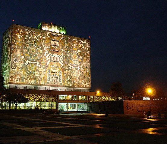 El mural de la Biblioteca Central