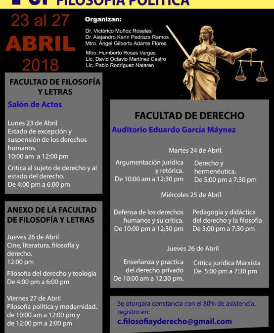 Congreso de crítica jurídica, filosofía del derecho y filosofía política